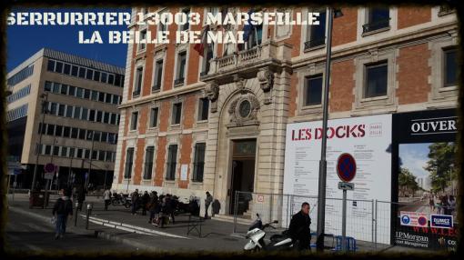 ARTISAN SERRURIER DU 13003 MARSEILLE QUARTIER DE LA BELLE DE MAI