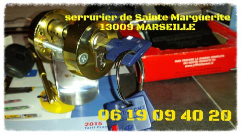 Serrurier du Quartier Sainte Marguerite 13009 Marseille