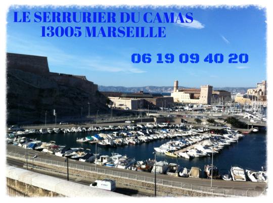 Serrurier du quartier du Camas 13005 Marseille