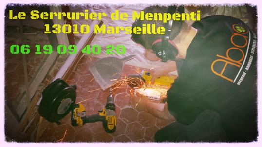 Serrurier du quartier Menpenti 13010 Marseille