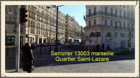 Serrurier du Quartier Saint-Lazare 13003 Marseille